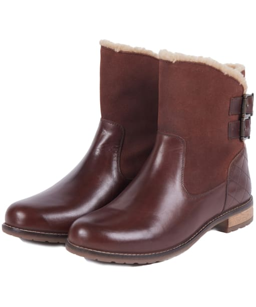 Women's Barbour Jessica Ankle Boots - Wine