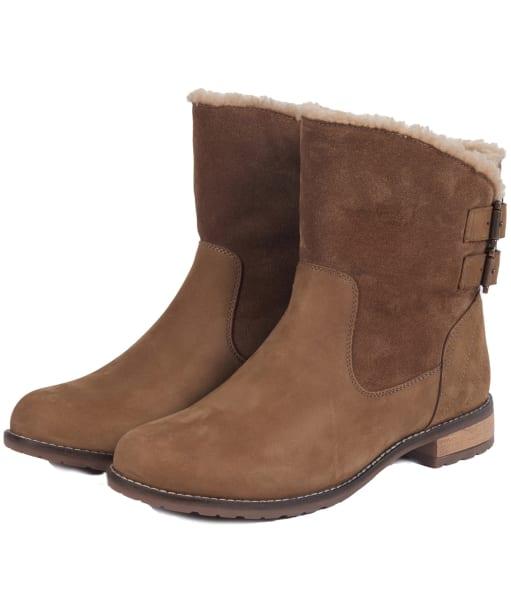 Women's Barbour Jessica Ankle Boots - Cognac