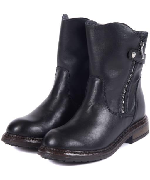 Women's Barbour International Costello Boots - Black