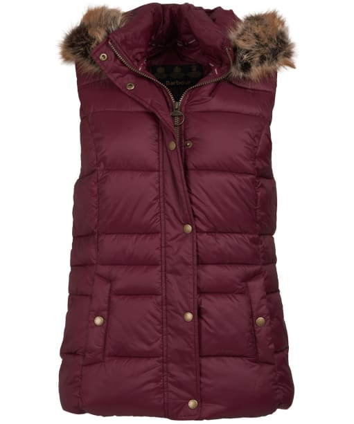 Women's Barbour Ullswater Gilet - Bordeaux