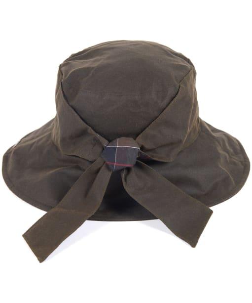 Women's Barbour Brambling Wax Hat - Olive