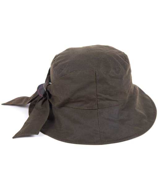 Women's Barbour Brambling Wax Hat - Olive