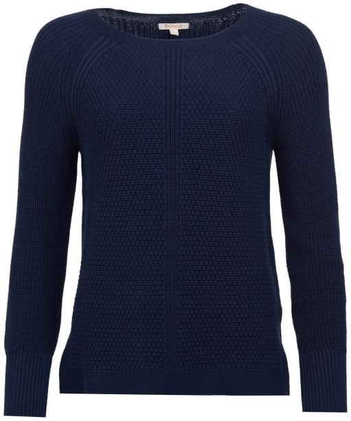Women's Barbour Stirling Knit Sweater - Navy
