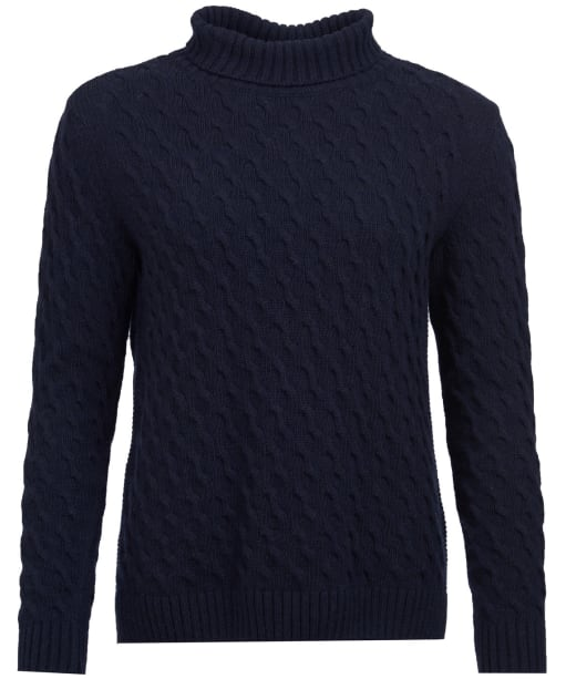 Women's Barbour Burne Knit Sweater - Navy