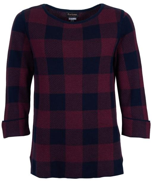 Women's Barbour Glenn Knit Sweater - Navy