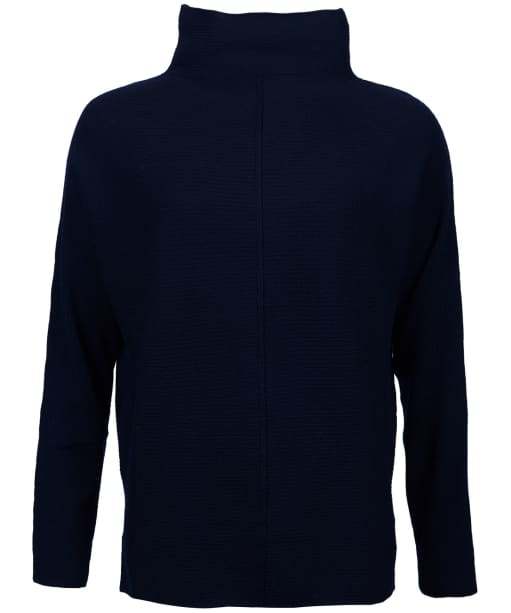 Women's Barbour Bute Knit Sweater - Navy