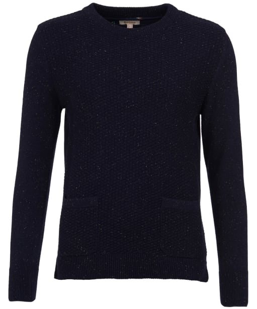 Women's Barbour Brecon Knit Sweater - Navy