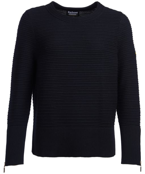 Women's Barbour International Garrow Knit Sweater - Black