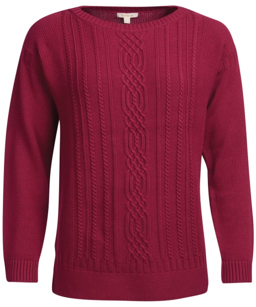 Women's Barbour Stokehold Knit - Deep Pink