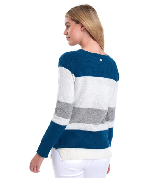 Women's Barbour Oyster Knit - Off White