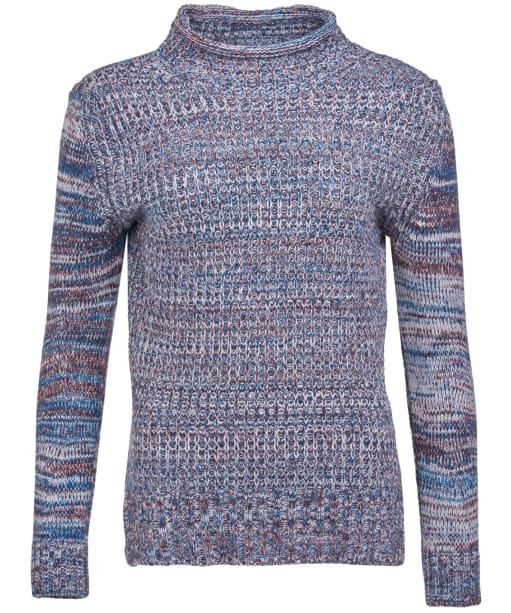 Women's Barbour Clam Knit - Bordeaux Marl