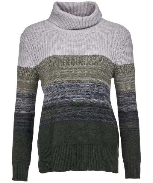 Women's Barbour Sternway Knit - WILDERNESS GRN