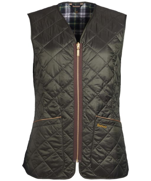 Women's Barbour Icons Betty Quilted Interactive Liner - Sage