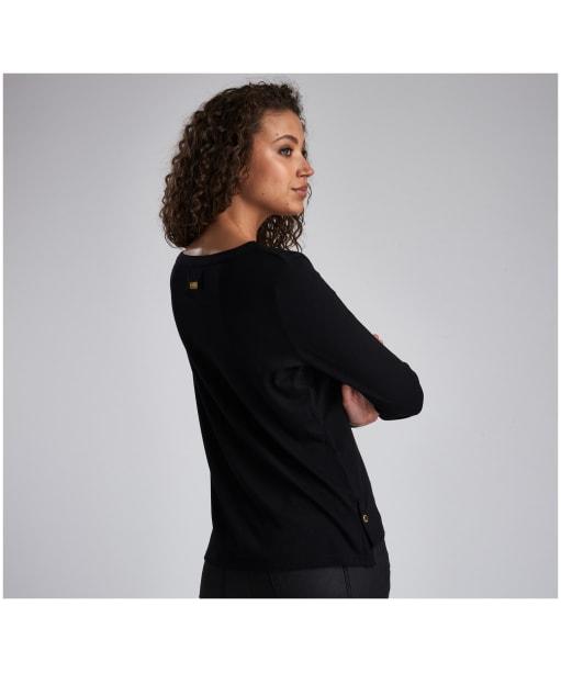 Women's Barbour International Garrow Top - Black
