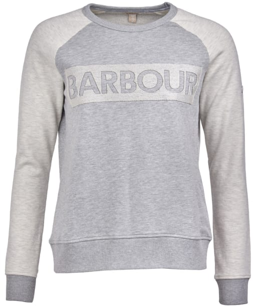Women's Barbour Sternway Overlayer - Light Grey Marl