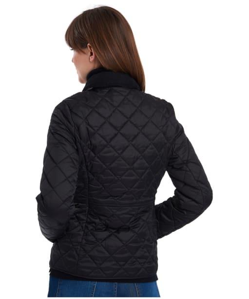 Women's Barbour x Sam Heughan Deveron Quilted Jacket - Black