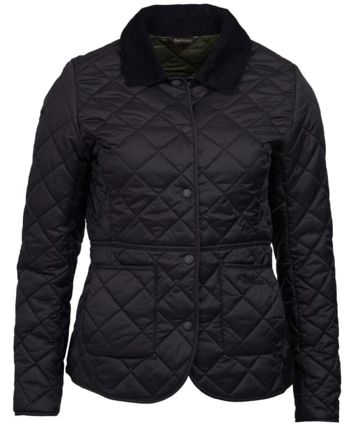 Women's Barbour x Sam Heughan Deveron Quilted Jacket - Black