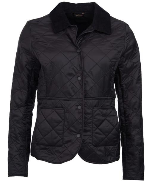 Women's Barbour Deveron Polarquilt Jacket - Black