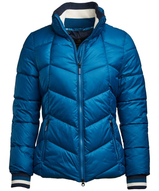 Women's Barbour Gangway Quilted Jacket - Tide Blue