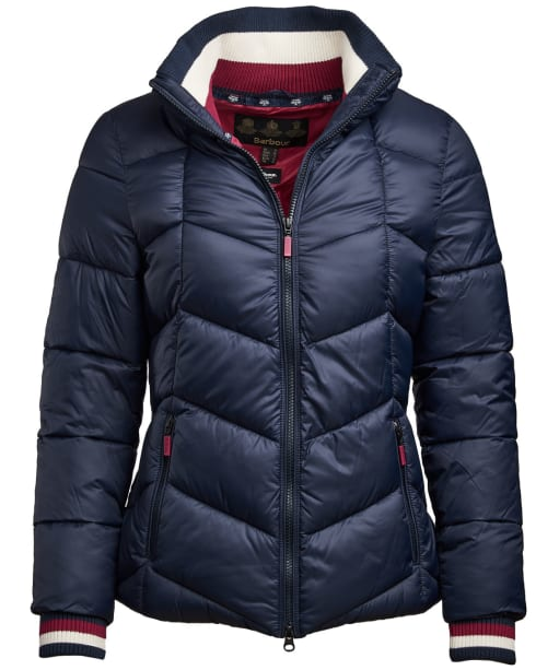 Women's Barbour Gangway Quilted Jacket - Navy
