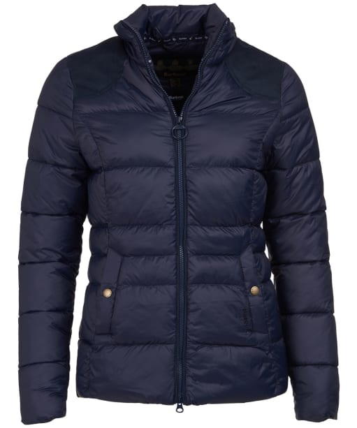 Women's Barbour Brecon Quilted Jacket - Navy