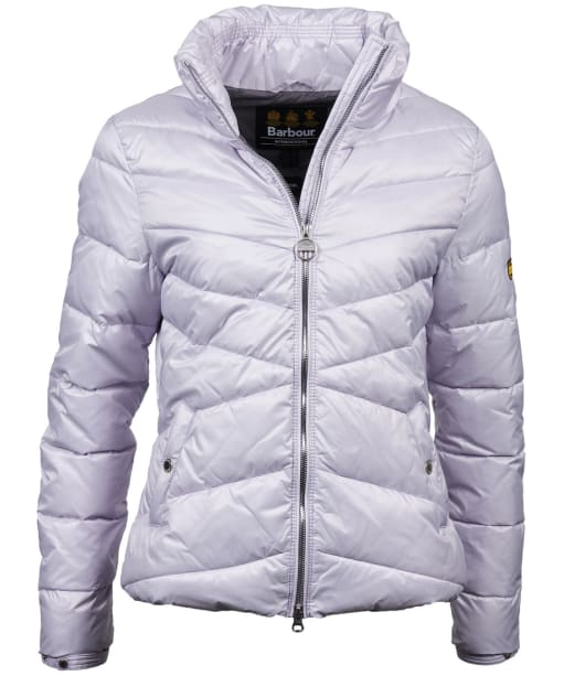 Women's Barbour International Dual Quilted Jacket - Haze