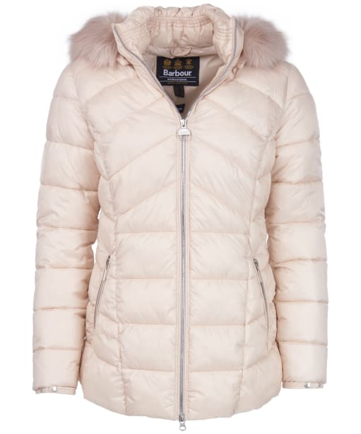 Women's Barbour International Hampton Quilted Jacket - Oyster