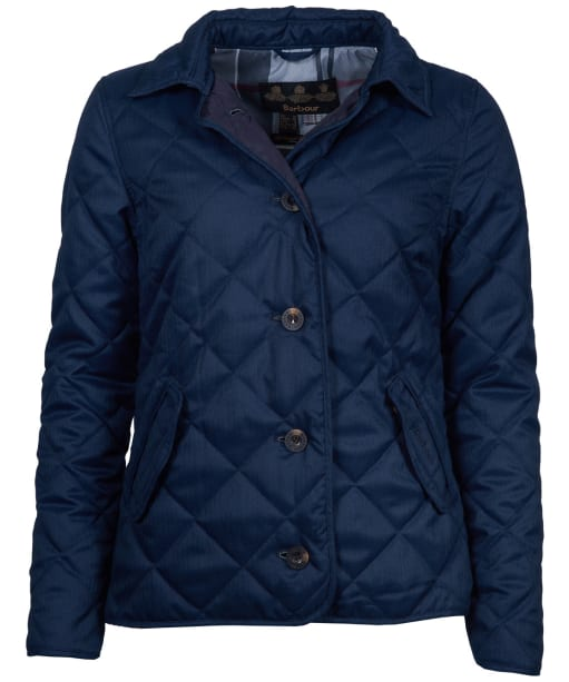 Women's Barbour Skye Quilted Jacket - Navy