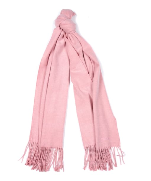 Women's Barbour Aydon Wrap - Soft Pink