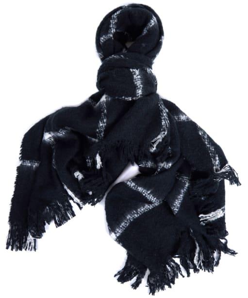 Women's Barbour International Morzine Scarf - Black / Cloud