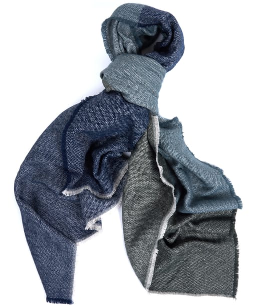 Women's Barbour Modern Country Scarf - Grey / Sage
