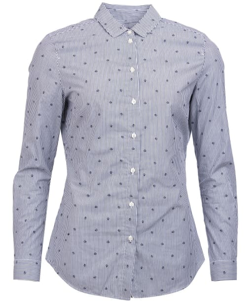 Women's Barbour Meadow Shirt - Navy / White