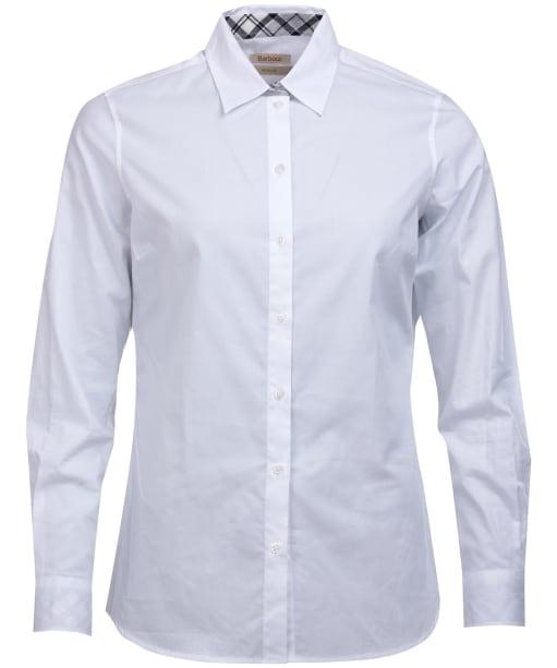 Women's Barbour Derwent Shirt - White
