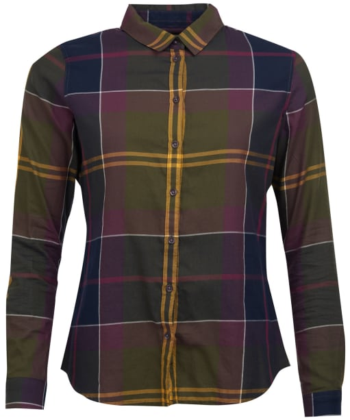 Women's Barbour Moorland Shirt - Olive Check