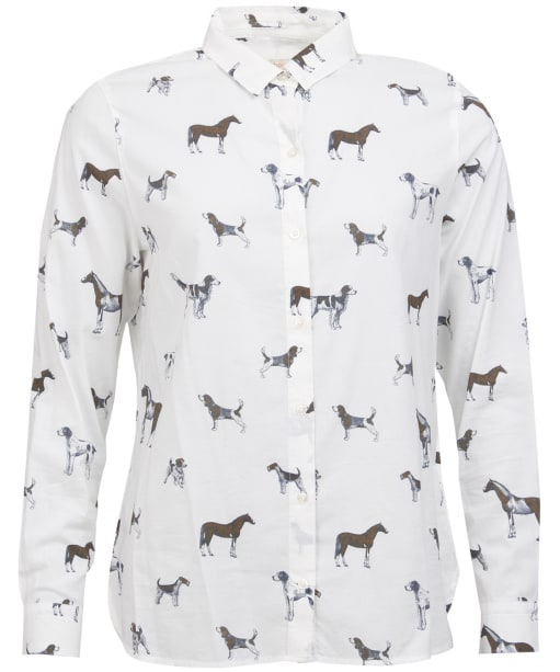 Women's Barbour Stirling Shirt - Cloud Dog Print