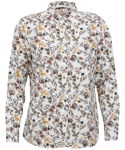 Women's Barbour Stirling Shirt - Cloud Pine Print