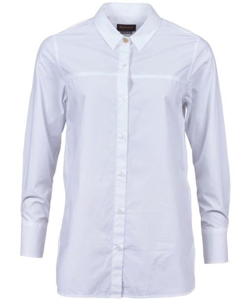 Women's Barbour Bute Shirt - White