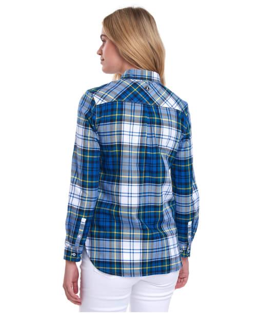 Women's Barbour Stokehold Shirt - Tide Blue Check