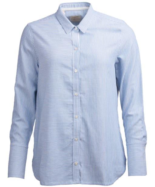 Women's Barbour Crag Shirt - Blue / White