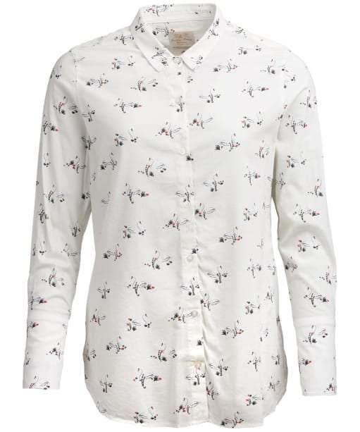 Women's Barbour Monmouth Shirt - Cloud Print
