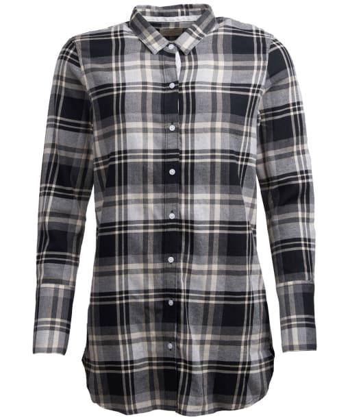 Women's Barbour Cabin Shirt - Black Check