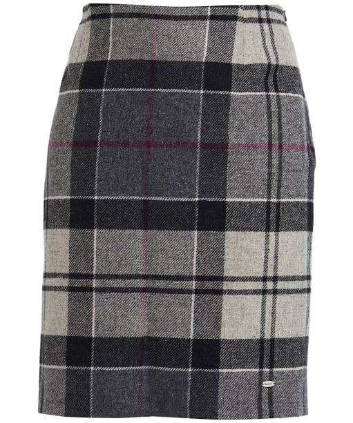 Women's Barbour Nebit Pencil Skirt - Juniper Winter Tartan