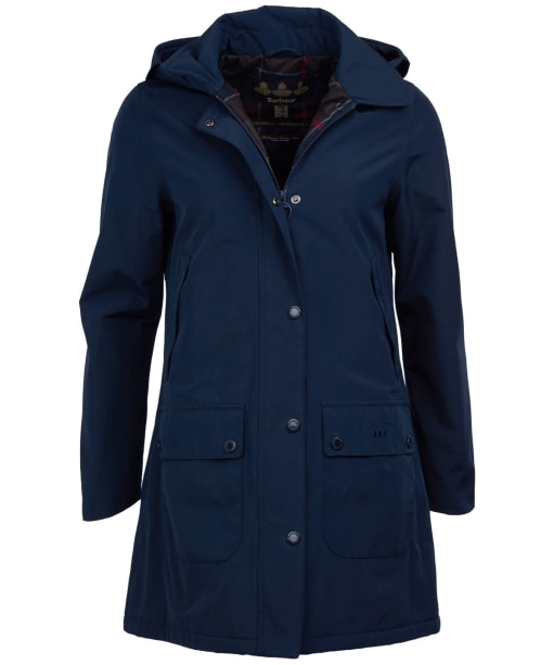 Women's Barbour Brisk Waterproof Jacket - Navy