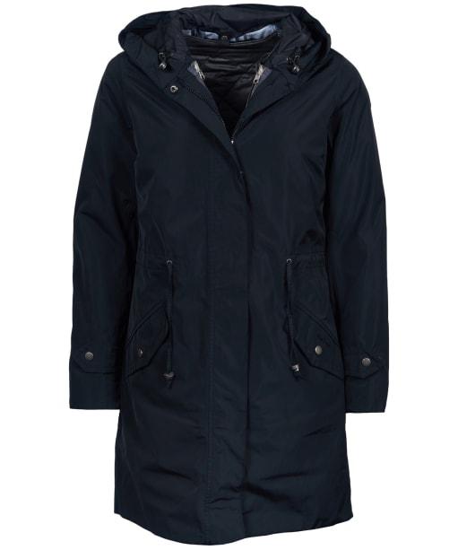 Women's Barbour Aggie Waterproof Jacket - Black