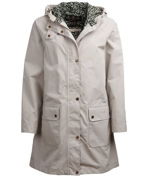 Women's Barbour x Emma Bridgewater Bryony Waterproof Jacket - Mist