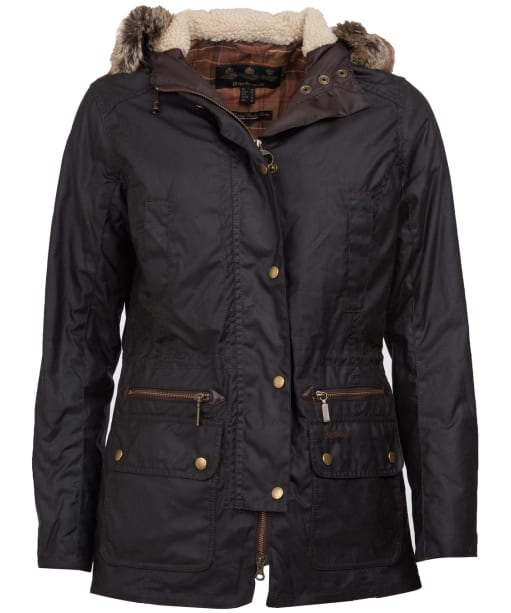 Women's Barbour Kelsall Waxed Jacket - Rustic
