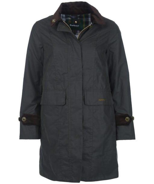 Women's Barbour Icons Haydon Waxed Jacket - Sage
