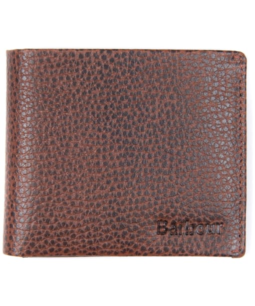 Men's Barbour Laddon Leather Billford Wallet - Brown