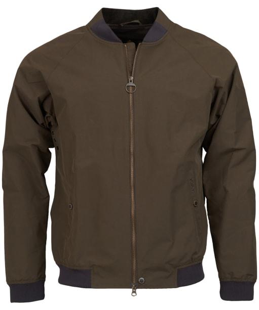 Men's Barbour Torksey Casual Jacket - Burnt Sepia