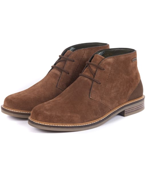 Men's Barbour Readhead Chukka Boots - Caramel Suede